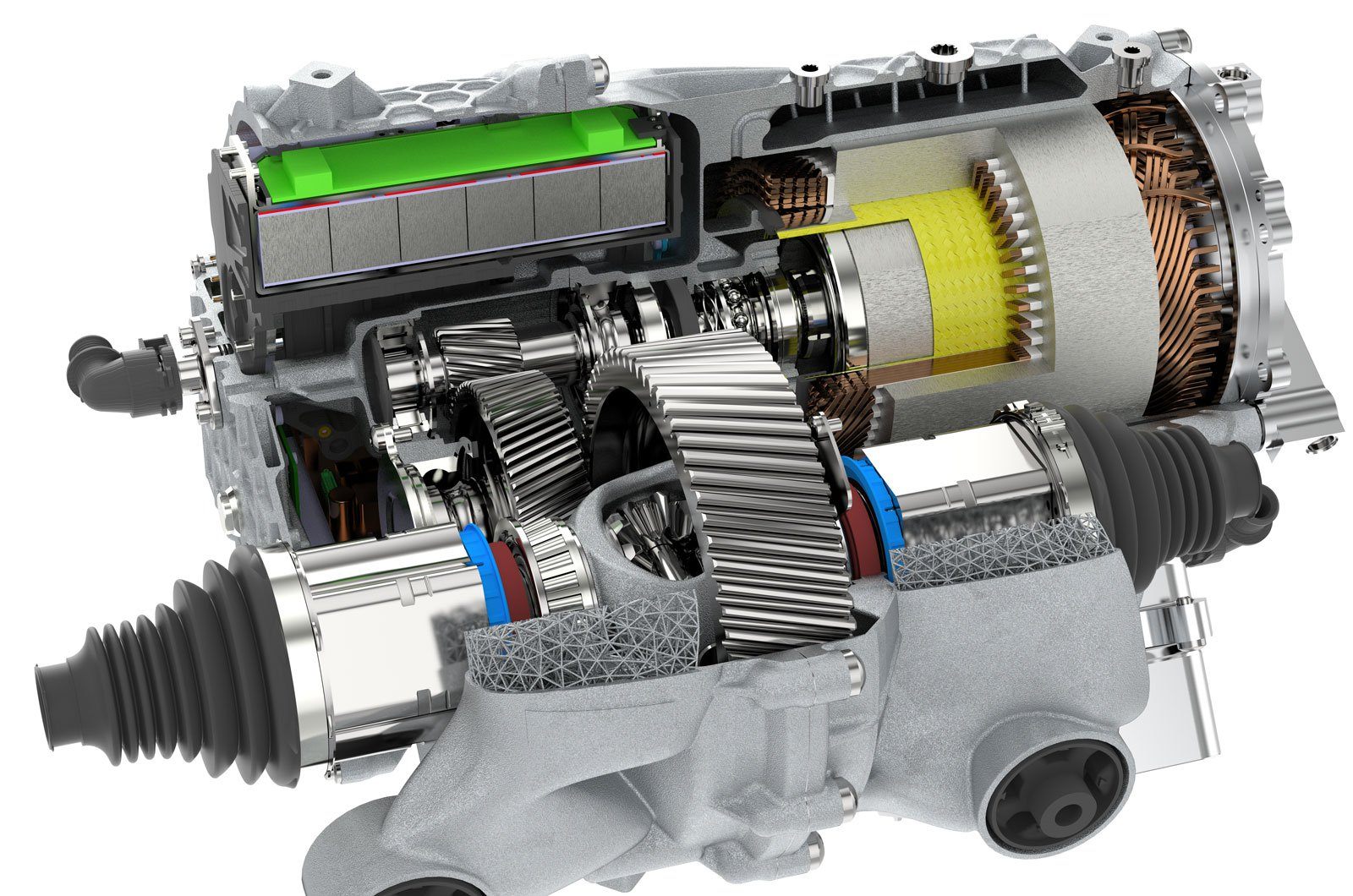 Automatic gearbox single speed