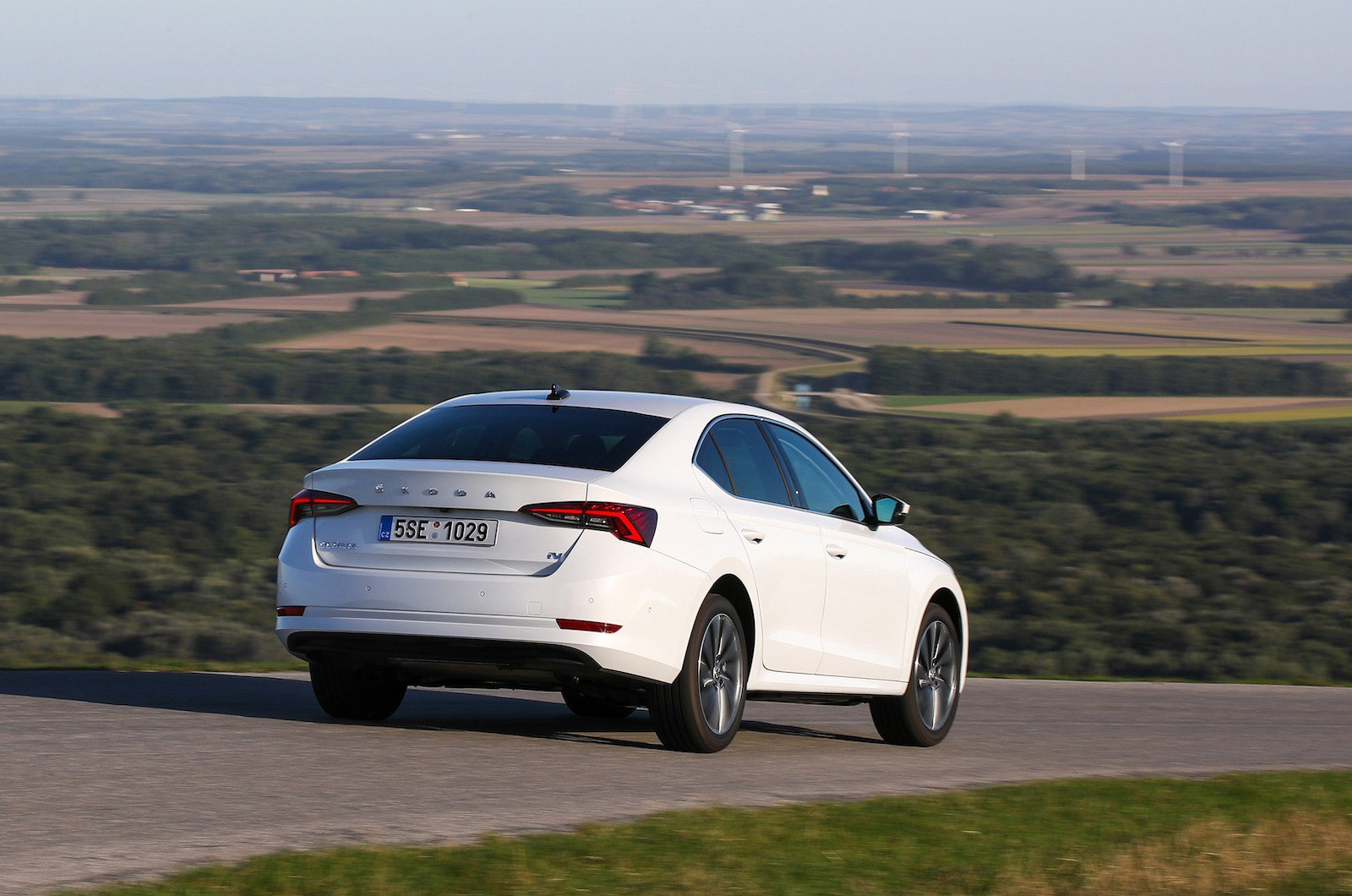If you're heading further afield, a plug-in hybrid such as the SKODA Superb iV delivers real flexibility