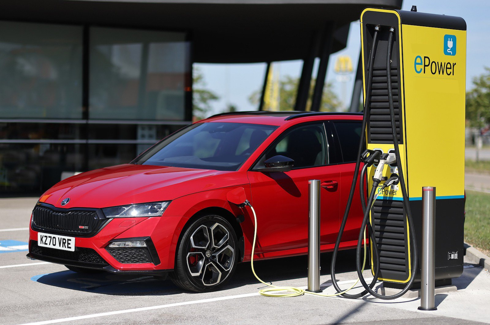 The UK's fast-growing network of public charging stations lets you top up your battery to keep driving on electric power more often