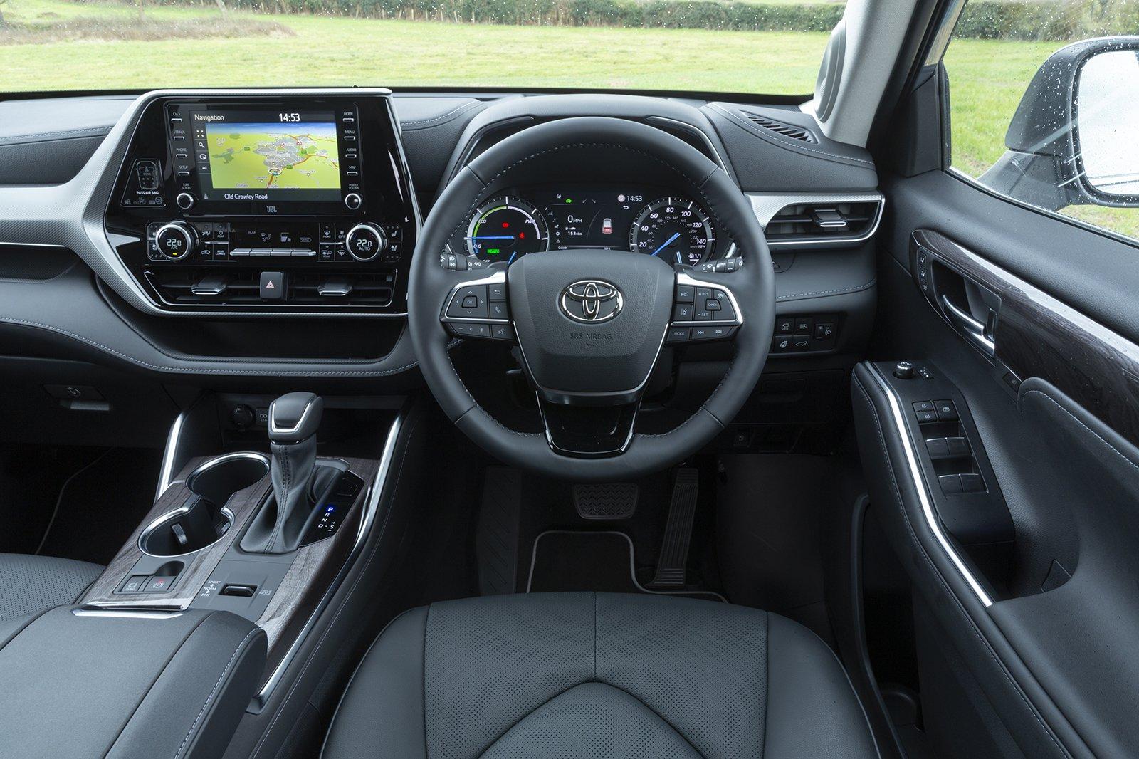 Toyota Highlander 2021 dashboard
