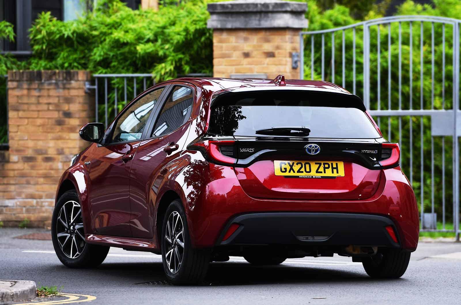 Toyota Yaris 2021 rear