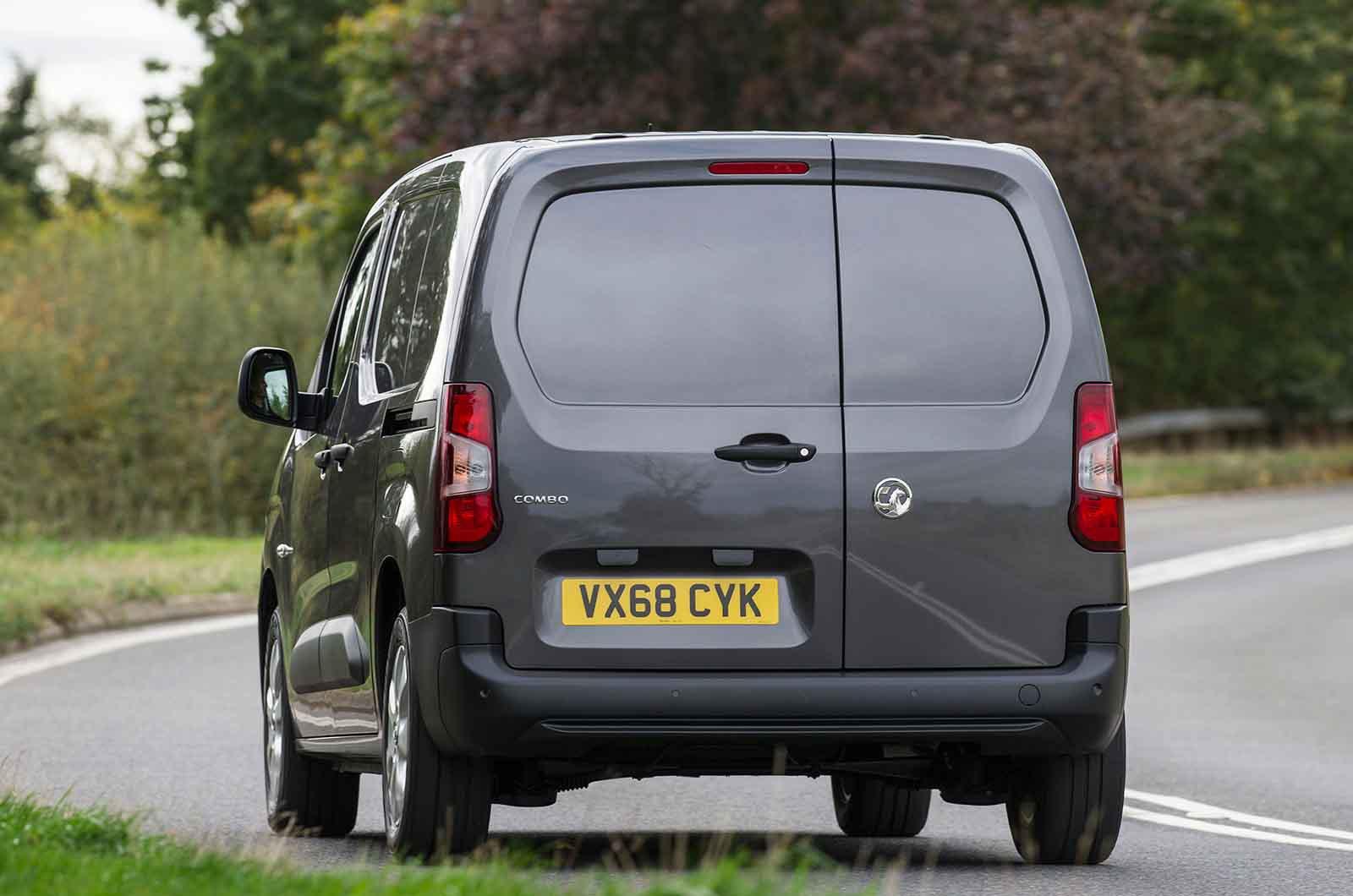 Vauxhall Combo Cargo 4x4 rear opening