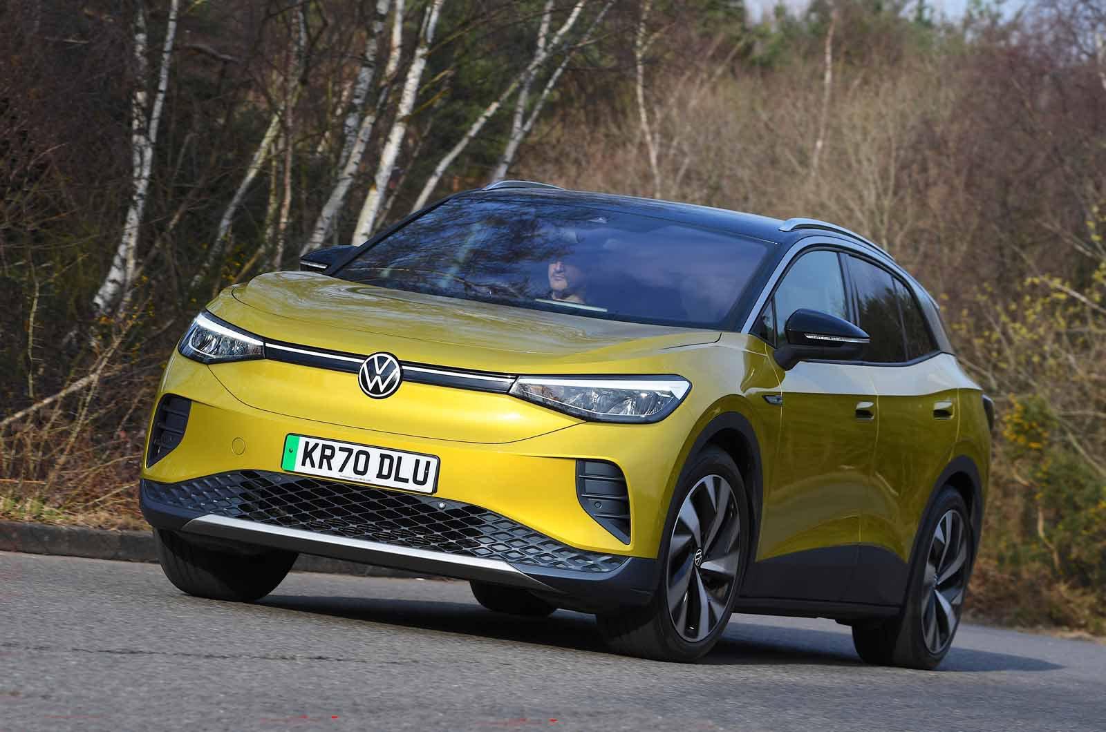 Volkswagen ID.4 2021 front