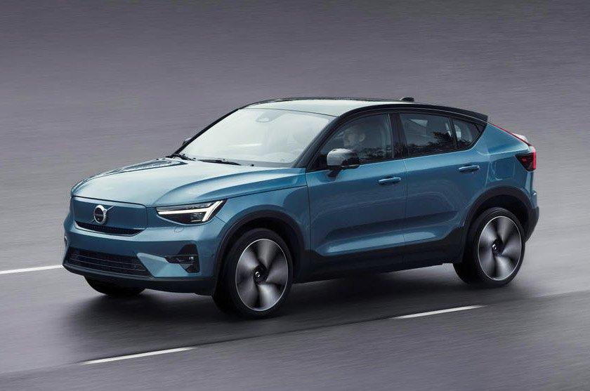 Volvo C40 Recharge 2021 front