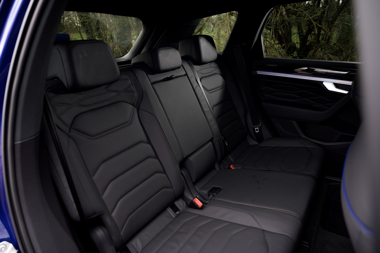 Volkswagen Touareg R 2021 RHD rear seats
