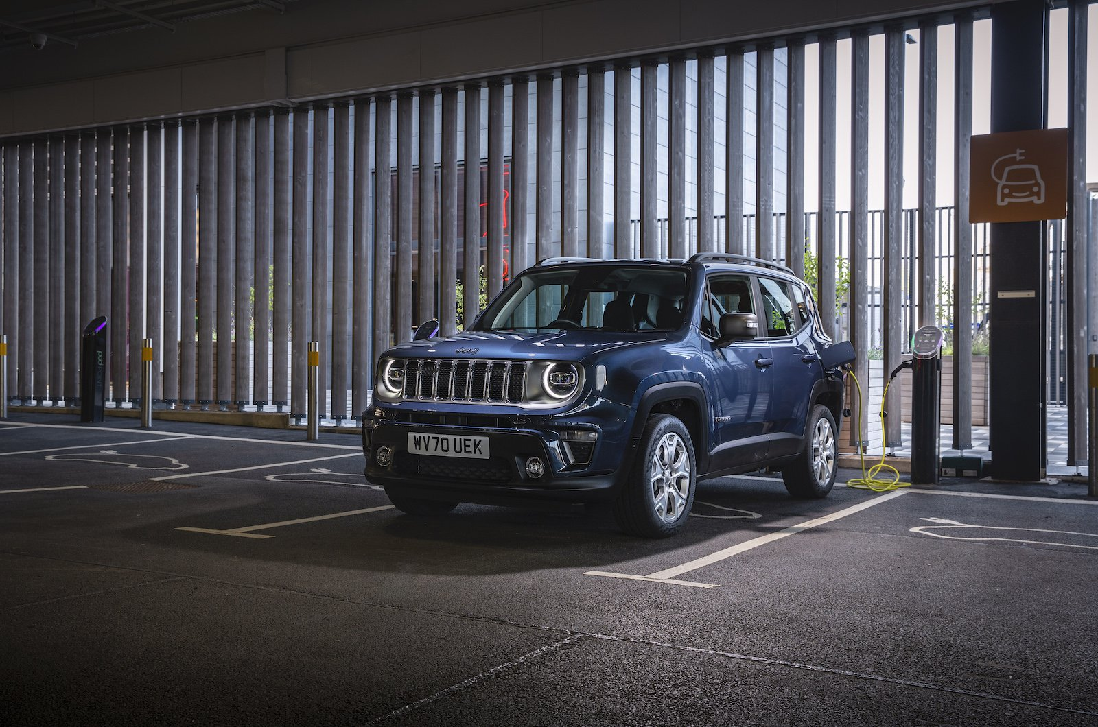 The Jeep Renegade 4xe Plug-in Hybrid has iconic style that stands out and truly astonishing 4x4 capability