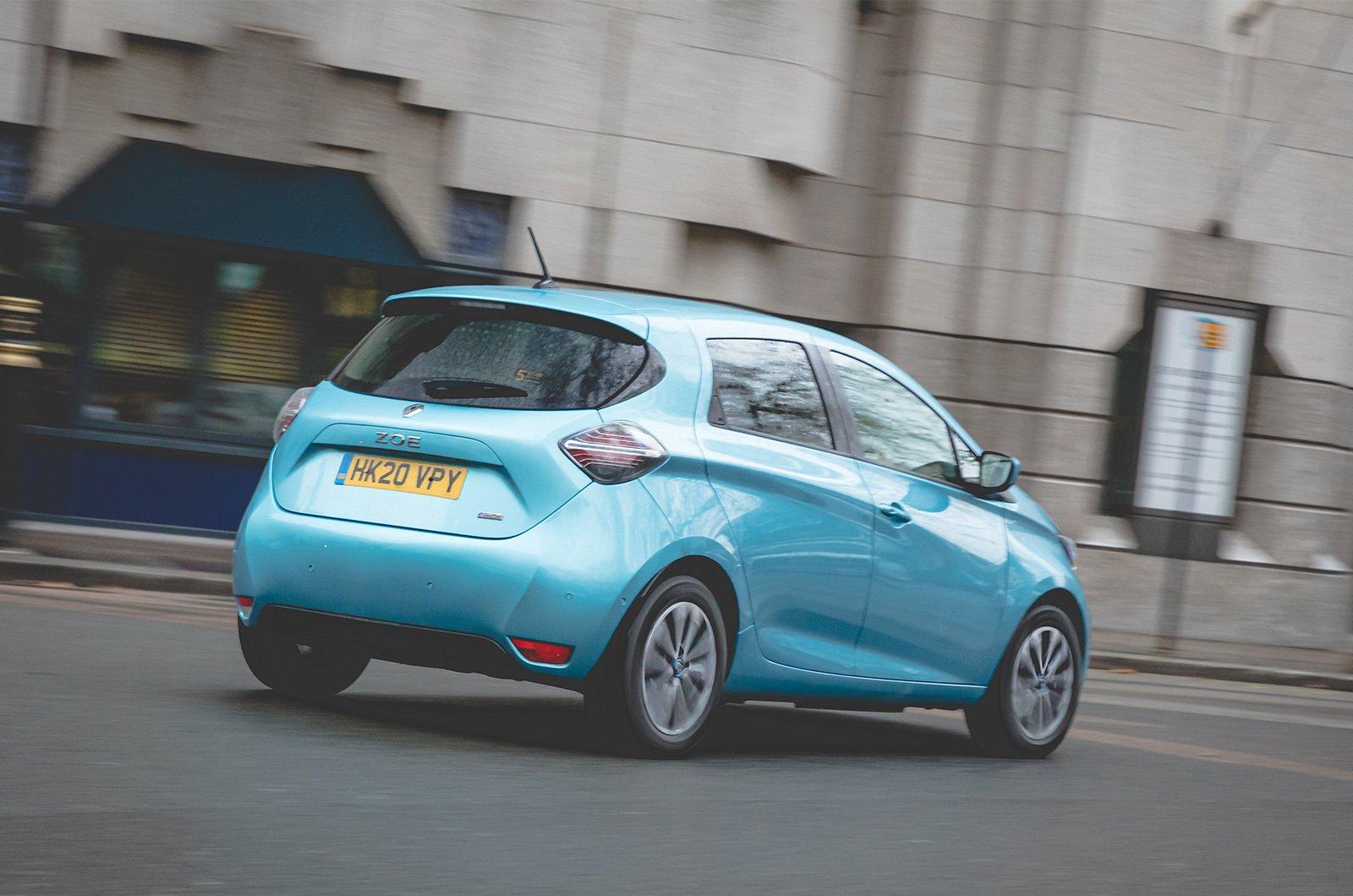 Renault Zoe long-term rear tracking
