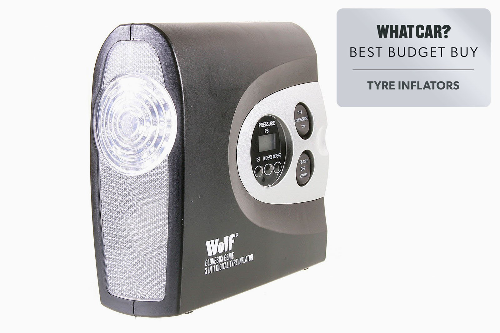 Best tyre inflators 2021 - Wolf Glovebox Genie