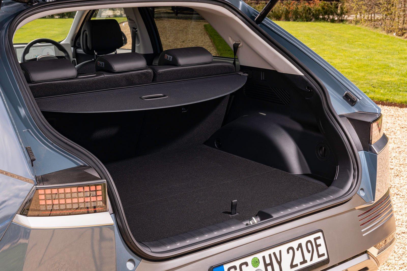 Hyundai Ioniq 5 2021 boot open