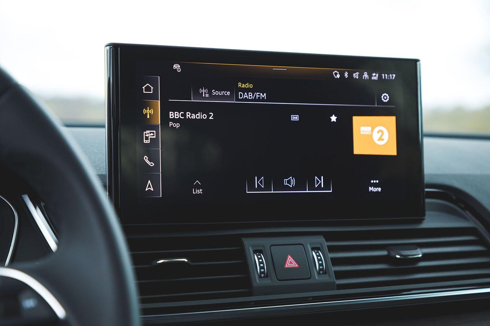 Audi Q5 Sportback 2021 infotainment