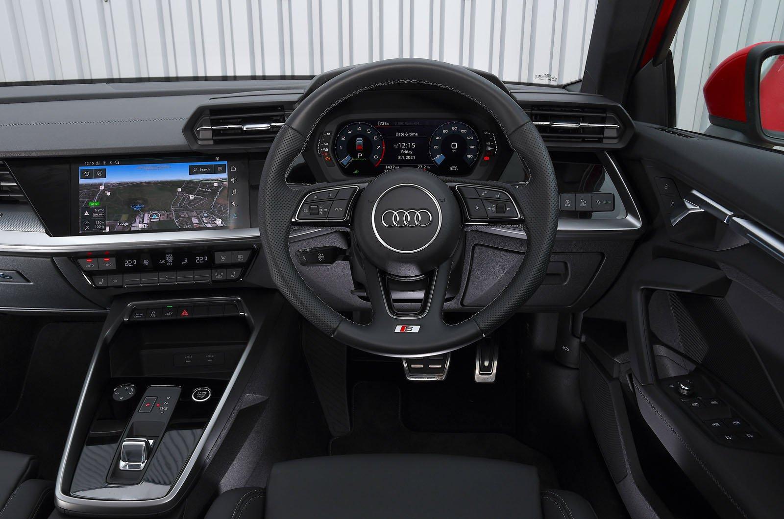 Audi A3 40 TFSIe 2021 dashboard