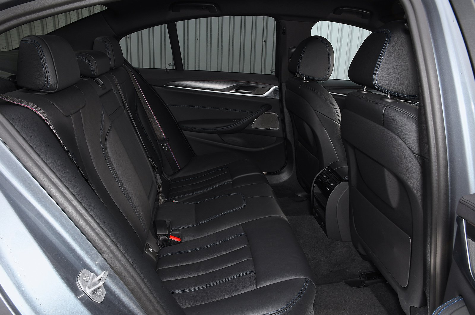 BMW 530e rear seats