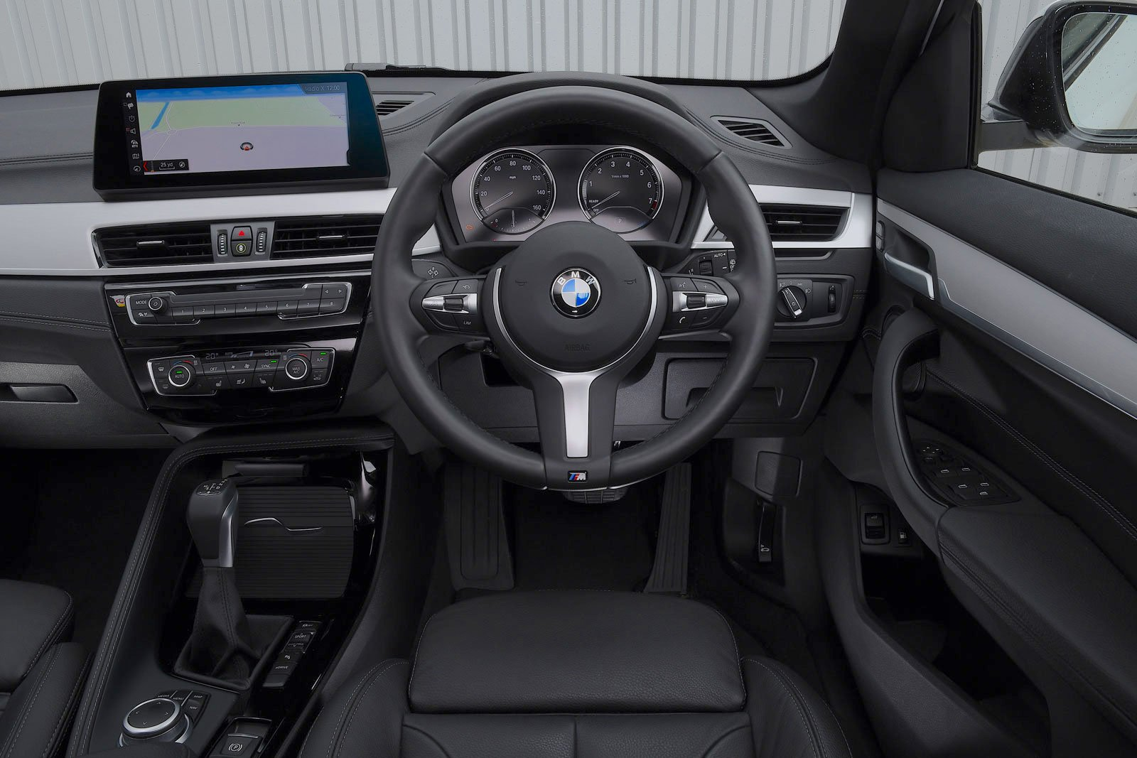 BMW X1 2021 interior dashboard