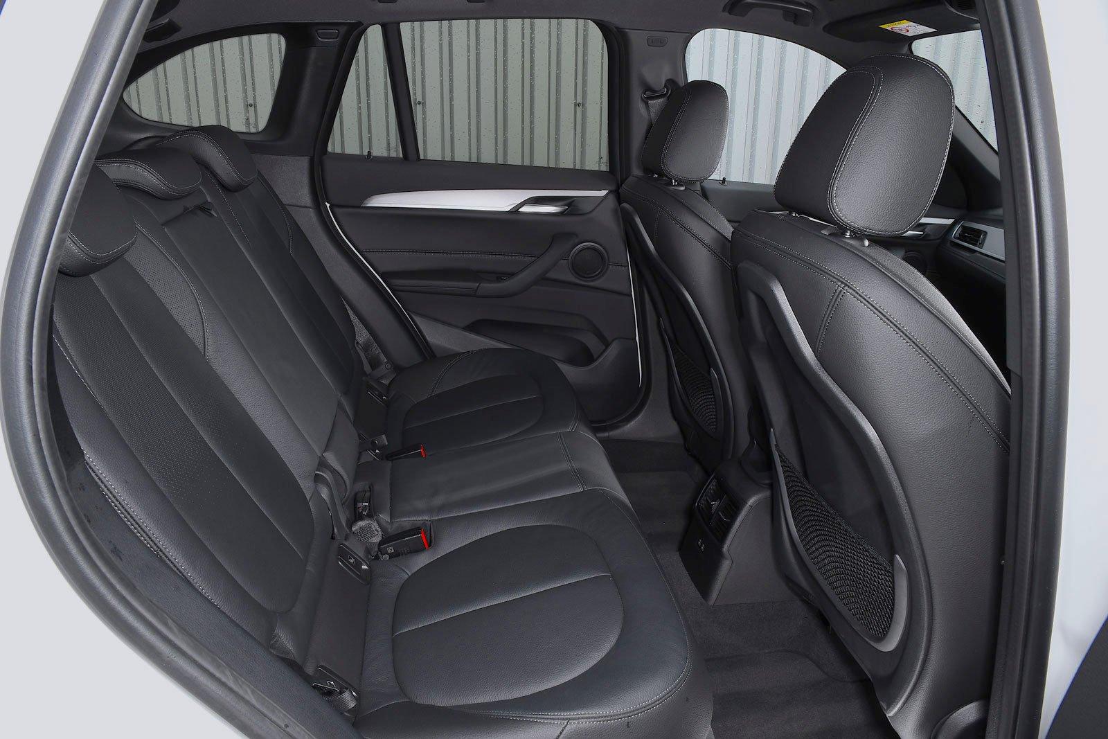 BMW X1 2021 interior rear seats