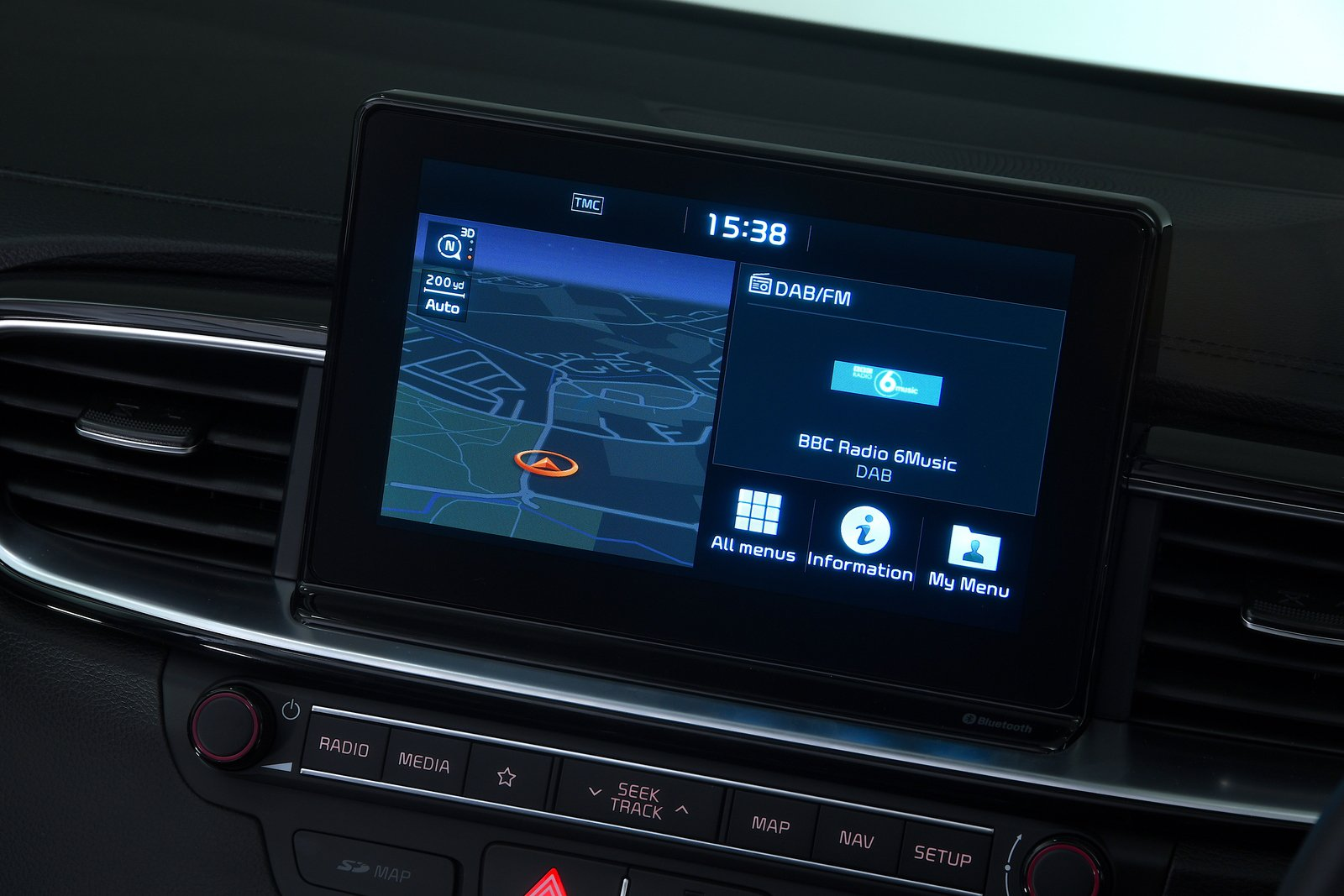 Kia Ceed 2021 interior infotainment