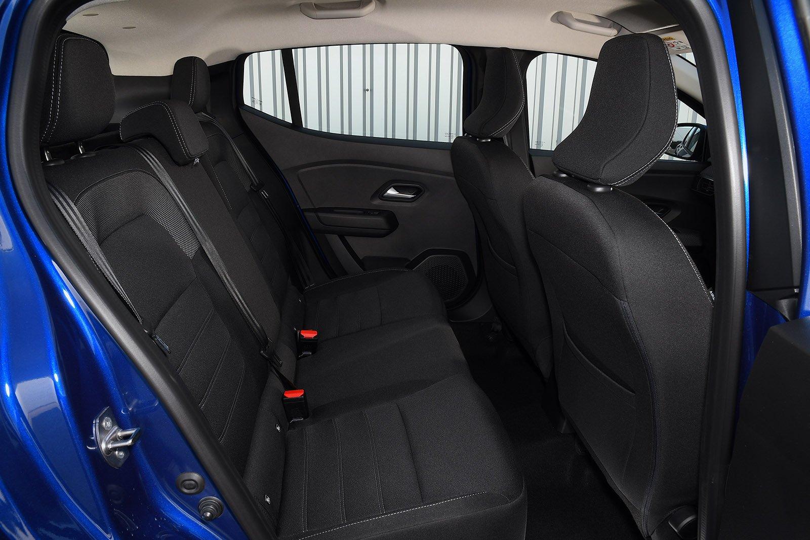 Dacia Sandero 2021 RHD rear seats