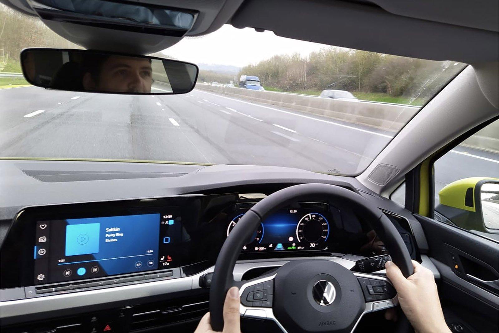 Volkswagen Golf 2021 Long Term driving view