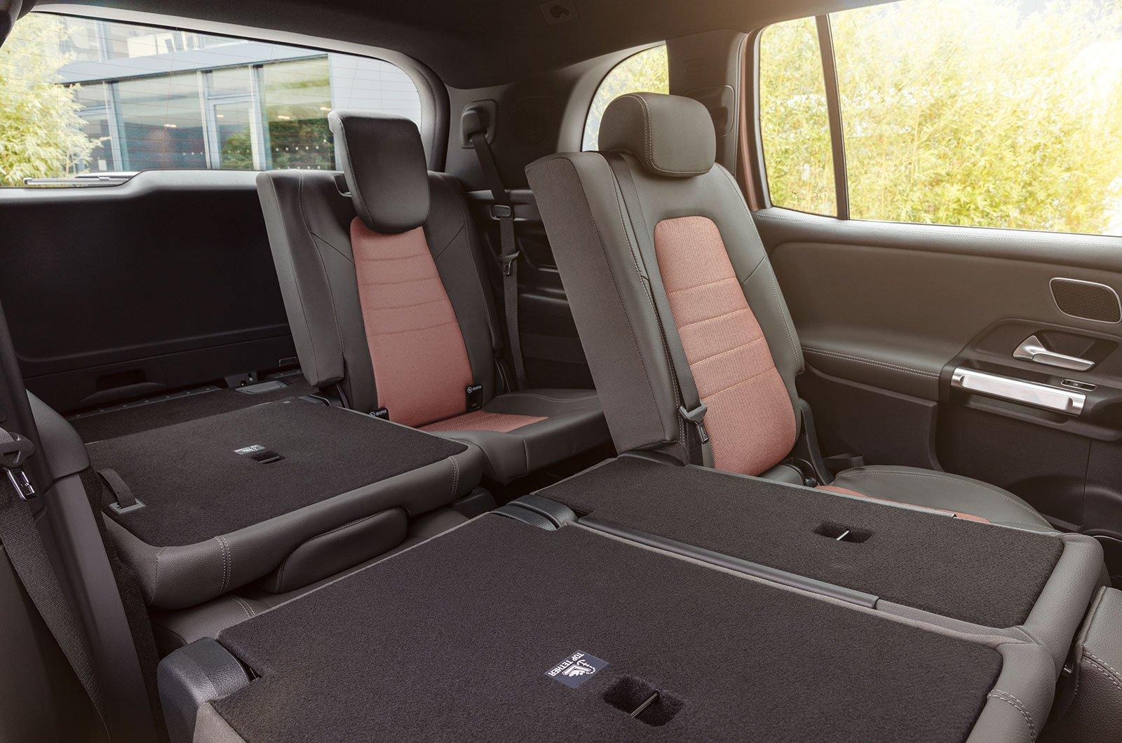 2021 Mercedes EQB seats