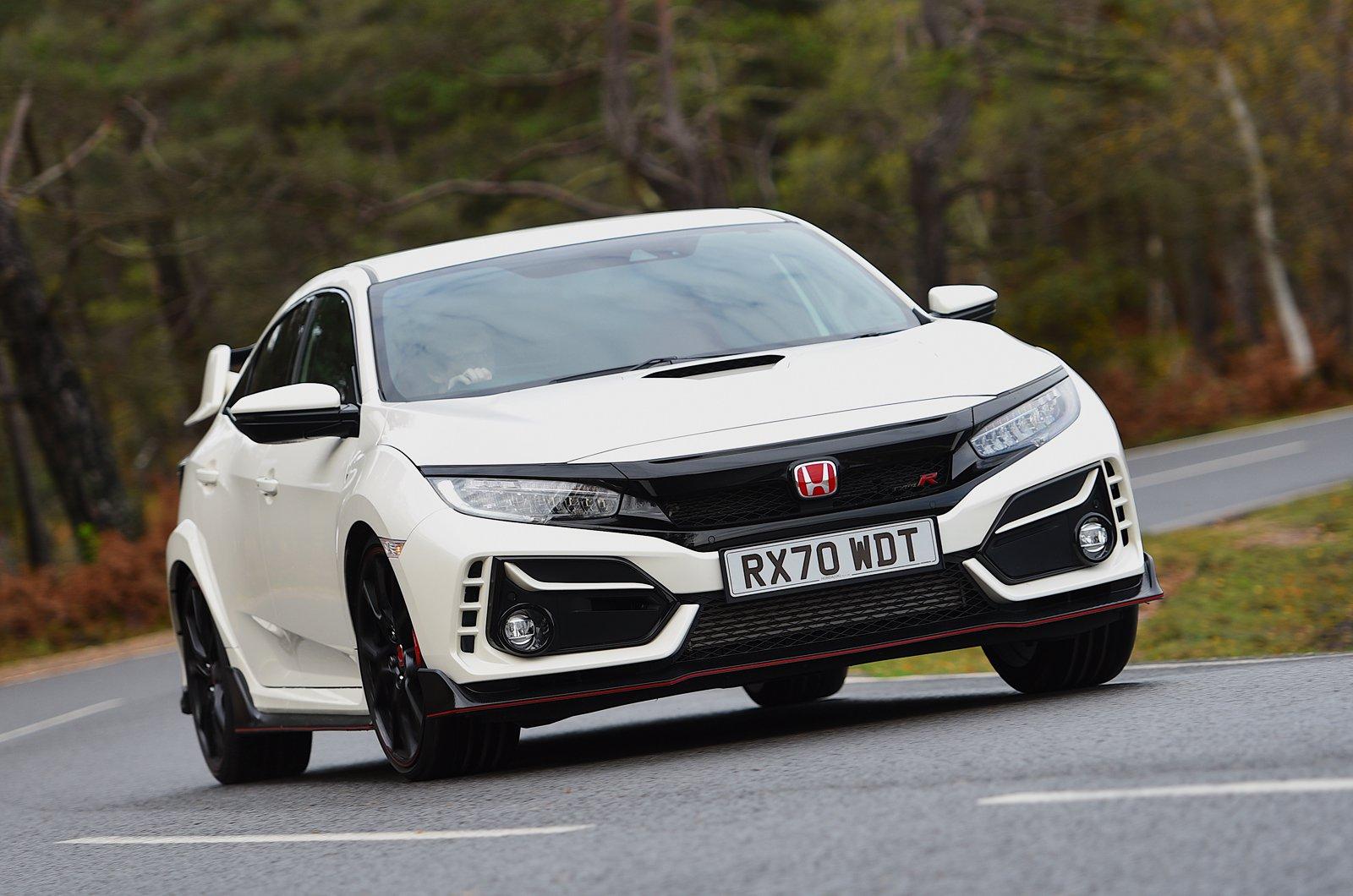 Honda Civic Type R 2021 front