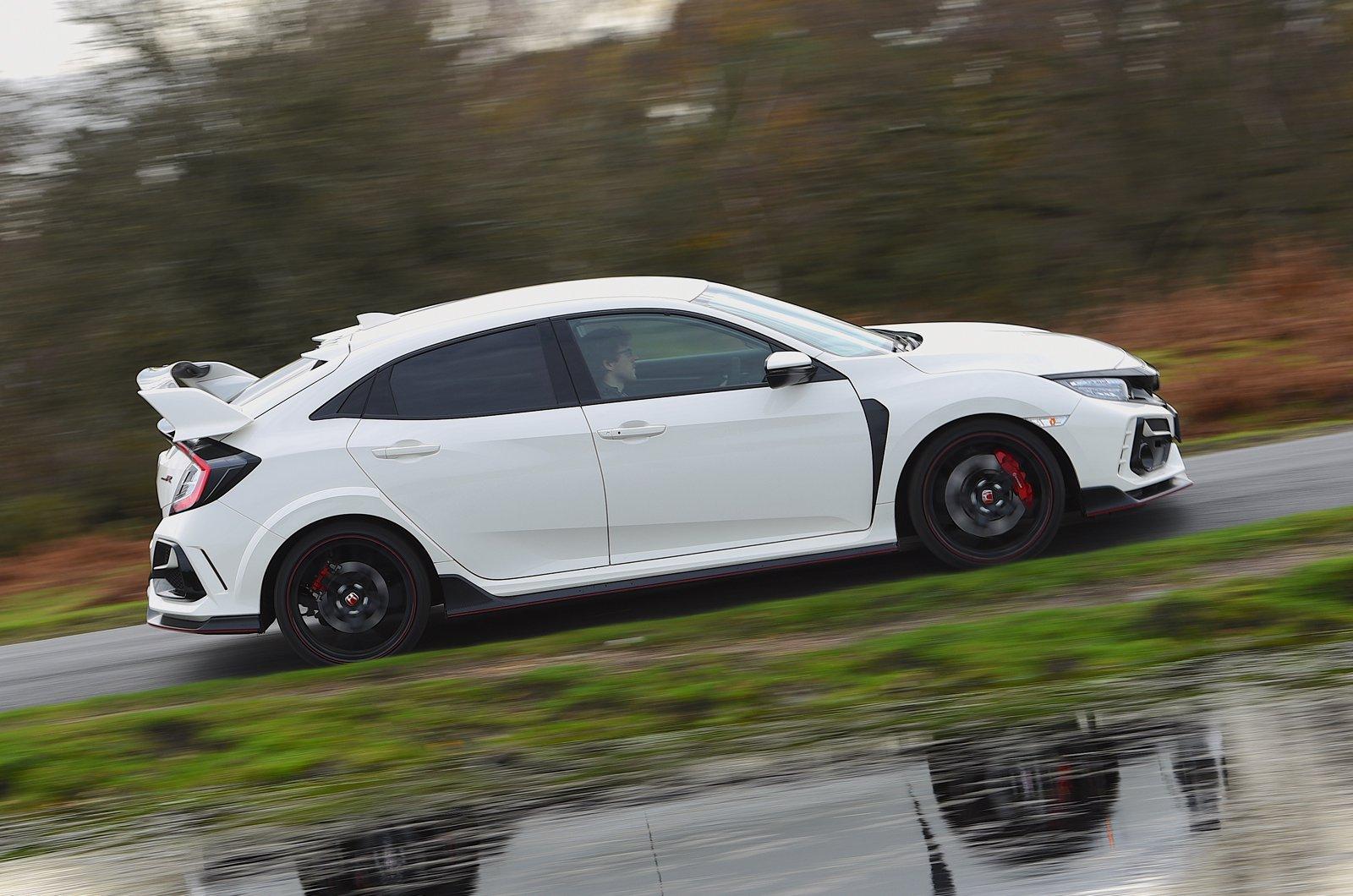 Honda Civic Type R 2021 side