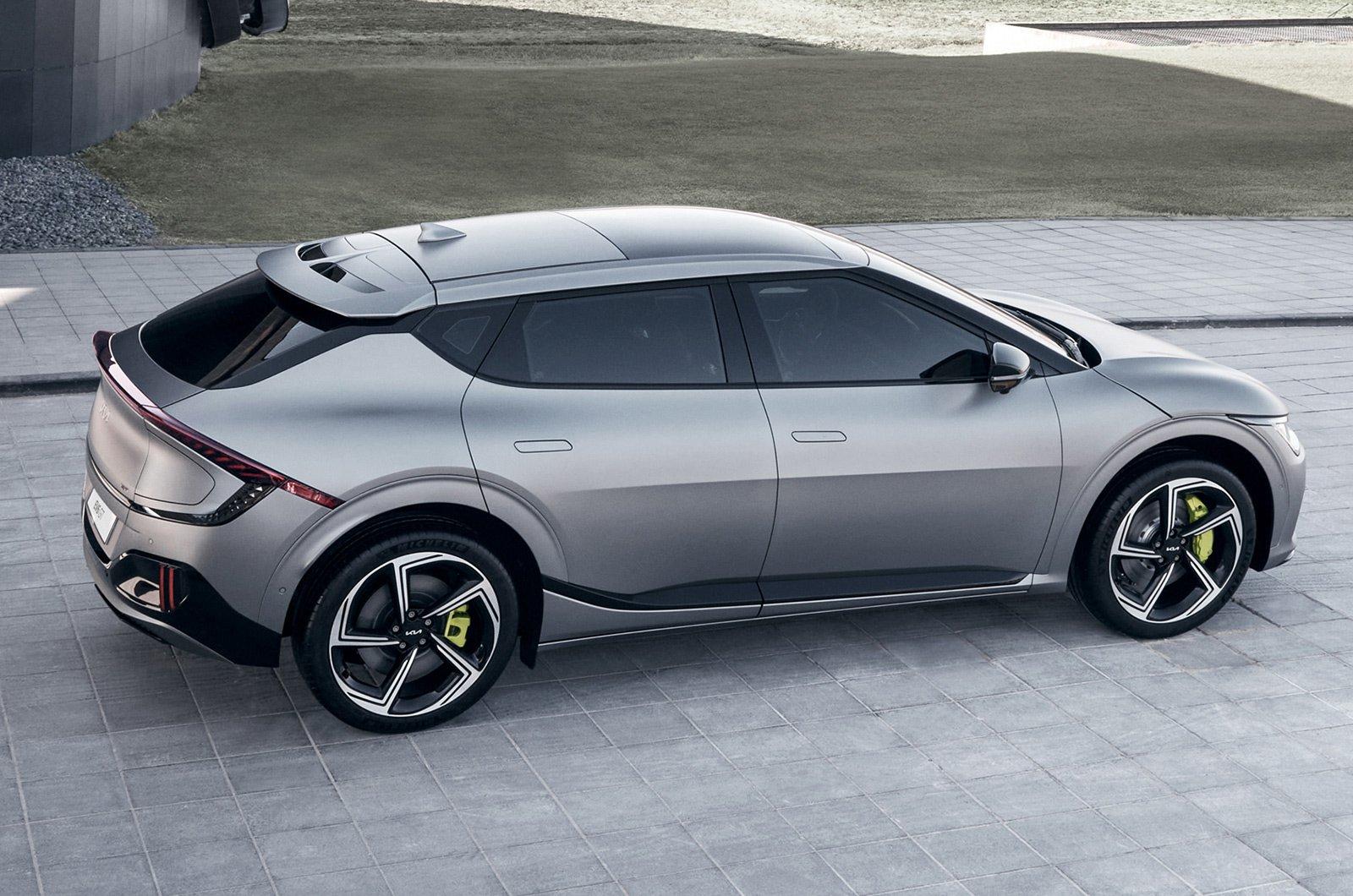 2021 Kia EV6 rear