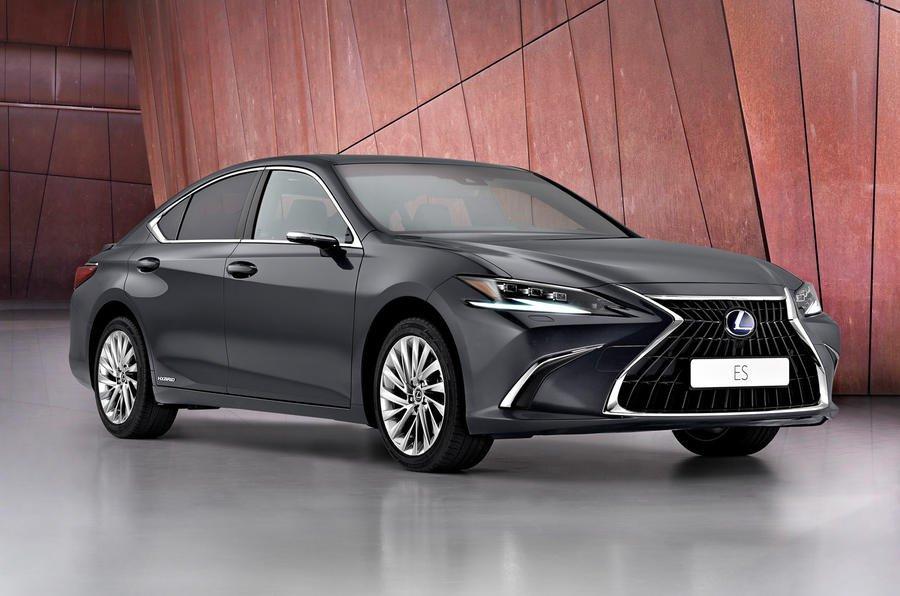 Lexus ES front