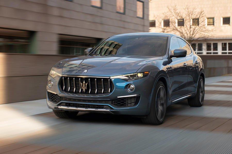 2021 Maserati Levante front