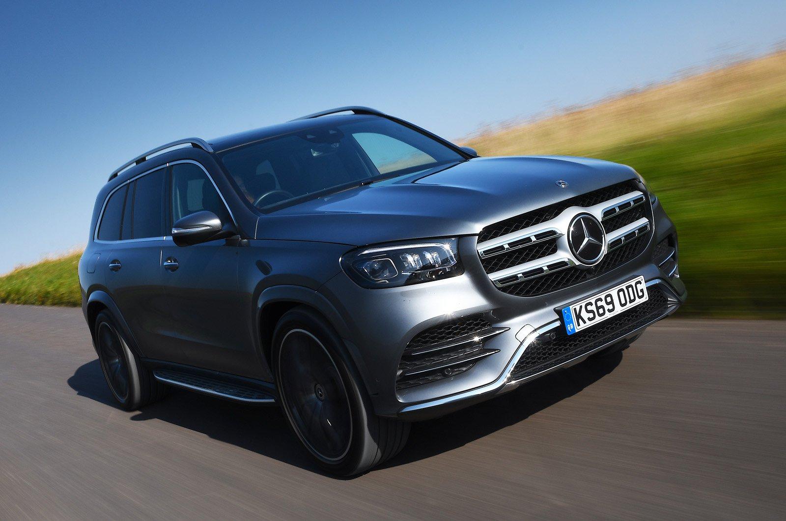 Mercedes GLS 2021 front
