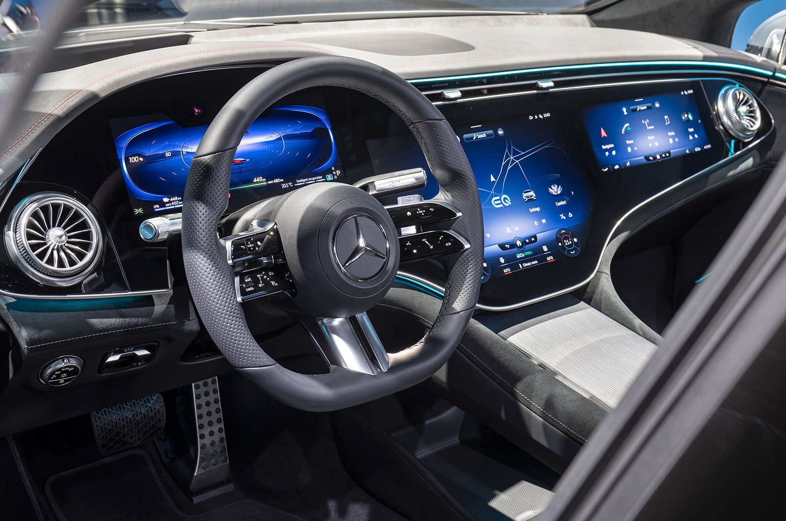 2021 Mercedes EQS interior