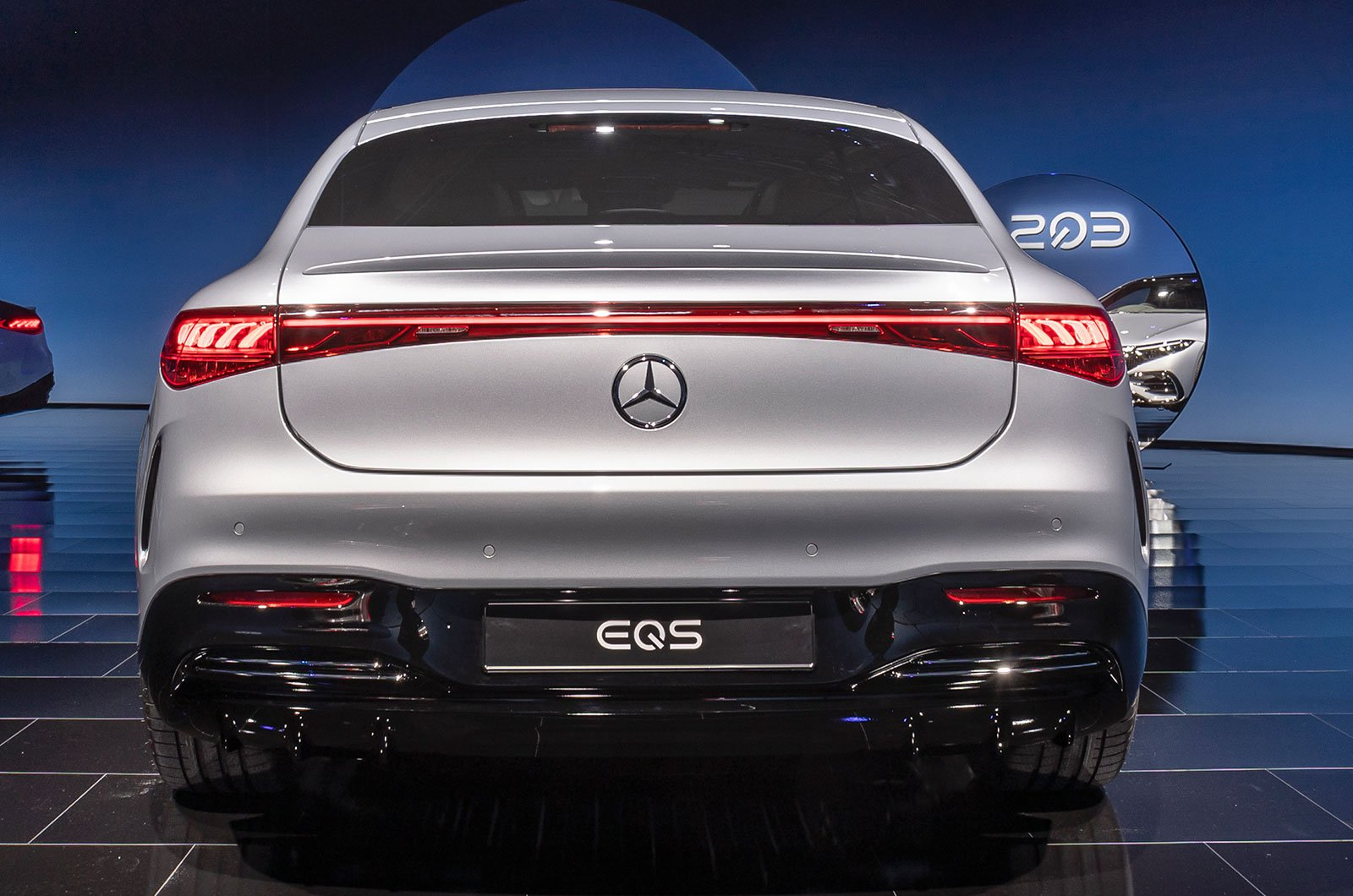 2021 Mercedes EQS rear