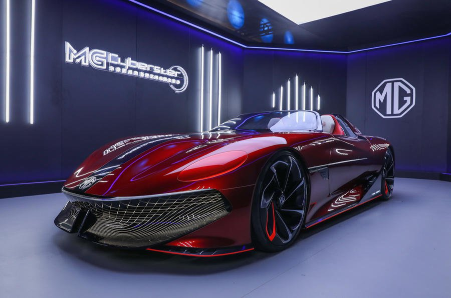 MG Cyberster concept front