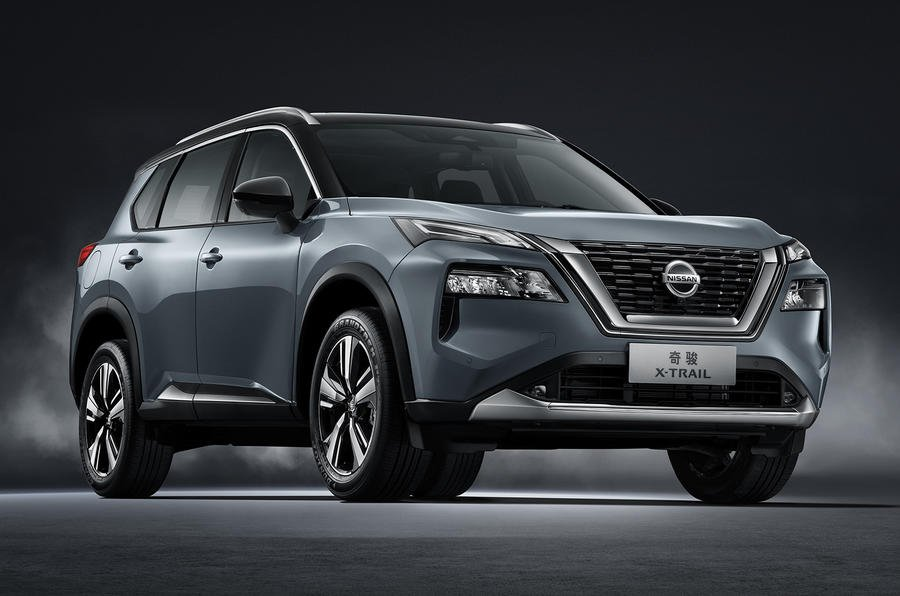 2021 Nissan X-trail front