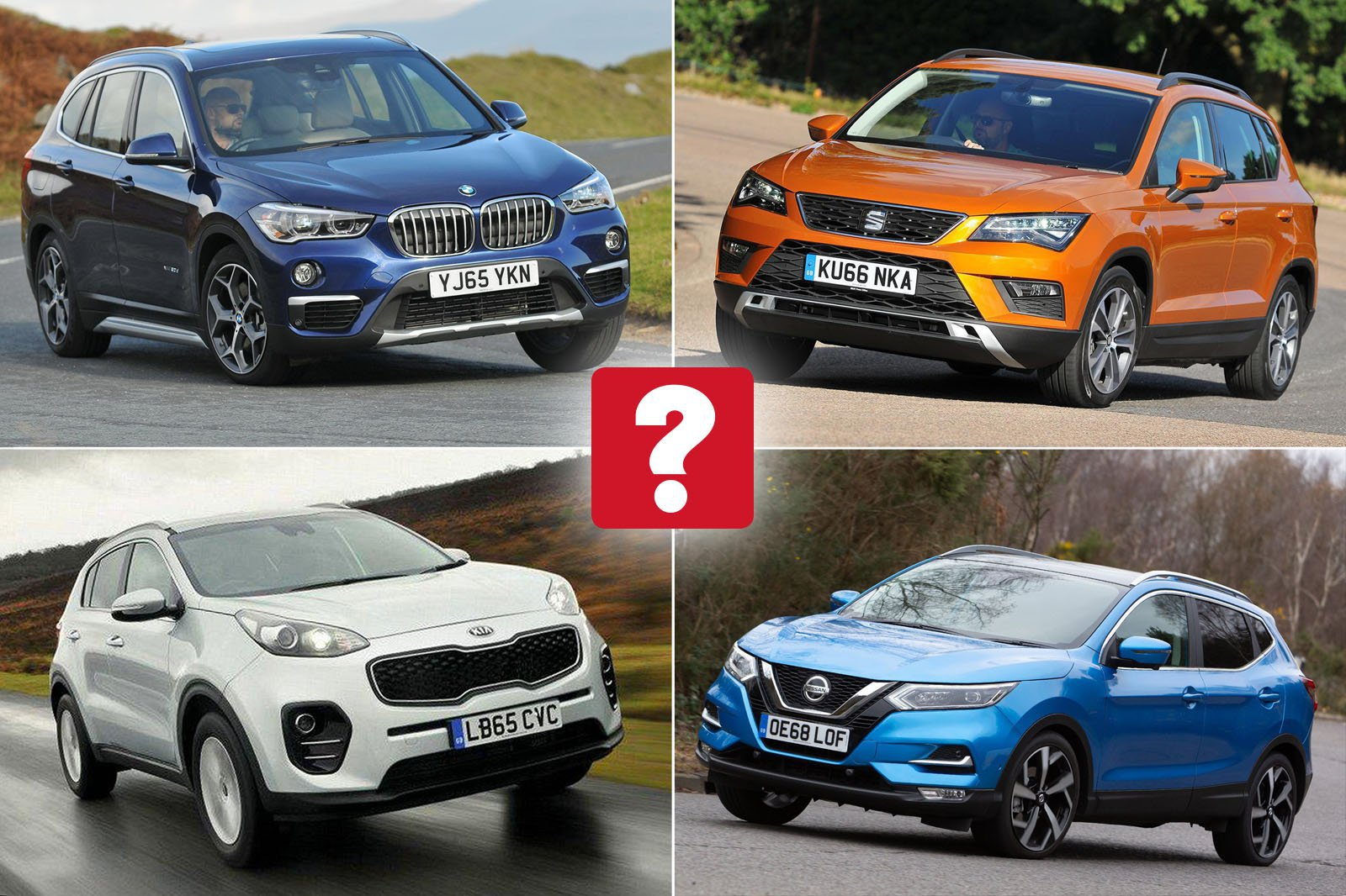 Top 10 used family suvs for £15000