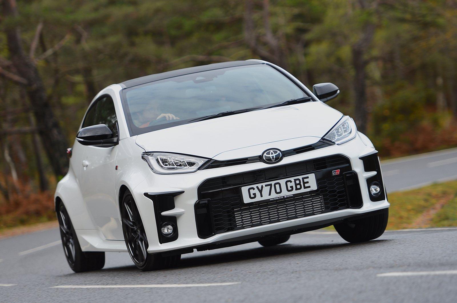 Toyota GR Yaris 2021 frente