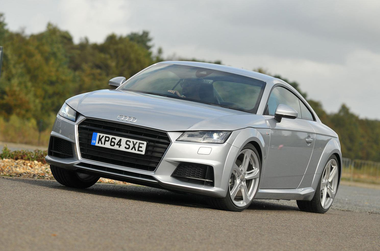 Used Audi TT Coupe front