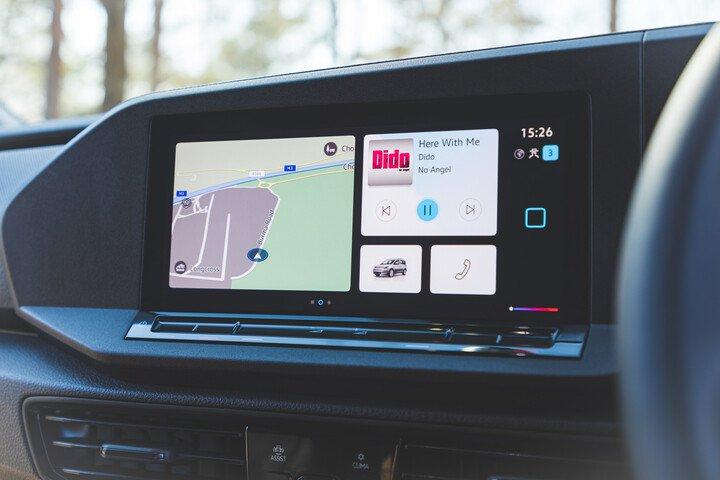Volkswagen Caddy 2021 infotainment