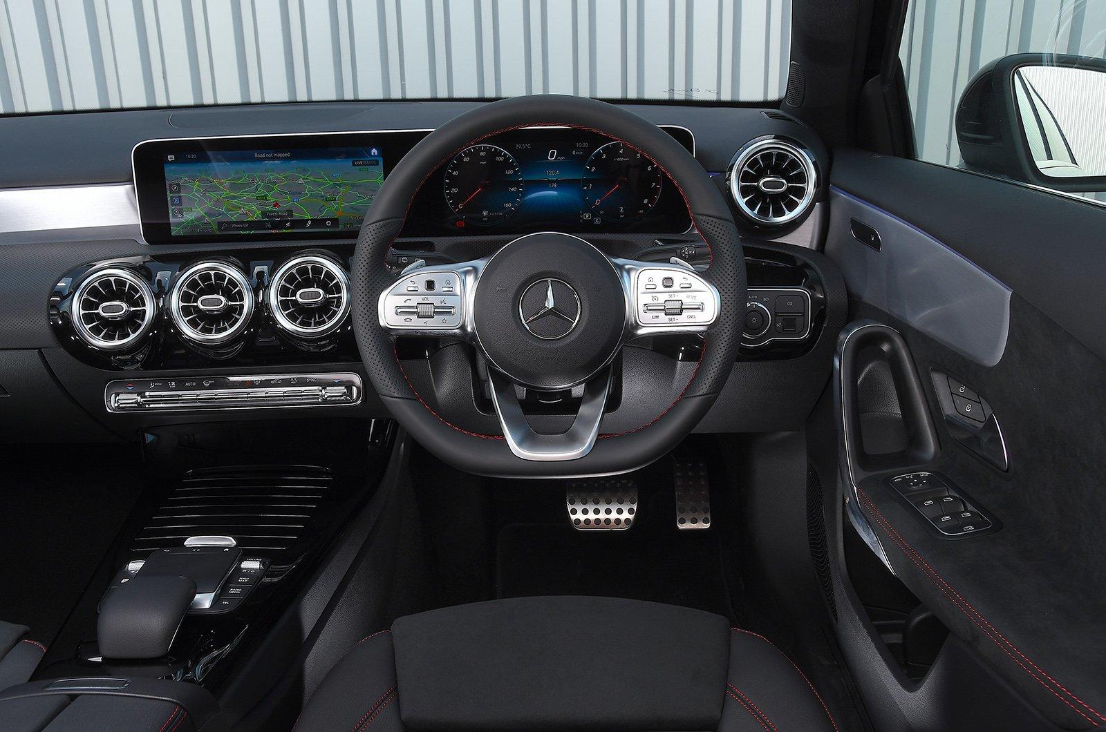 Mercedes A-Class dash