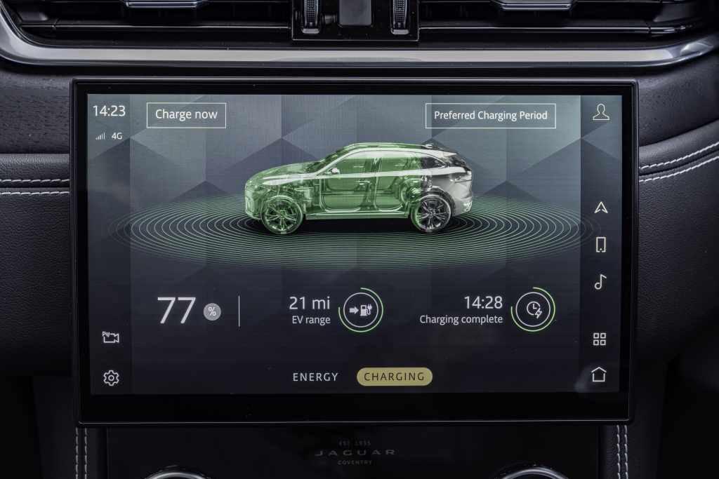 Jaguar F-Pace 2021 interior infotainment