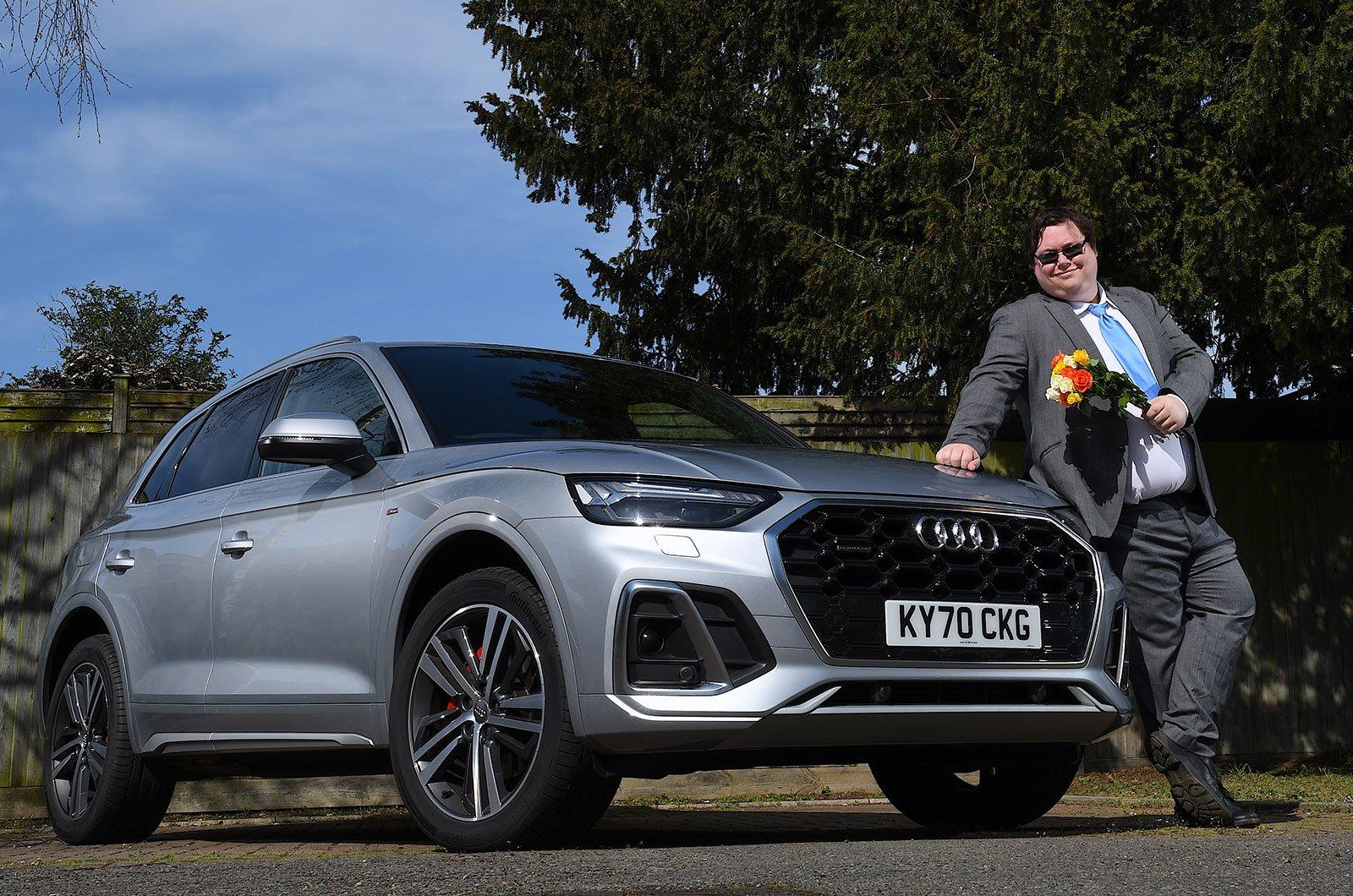 Darren with Audi Q5