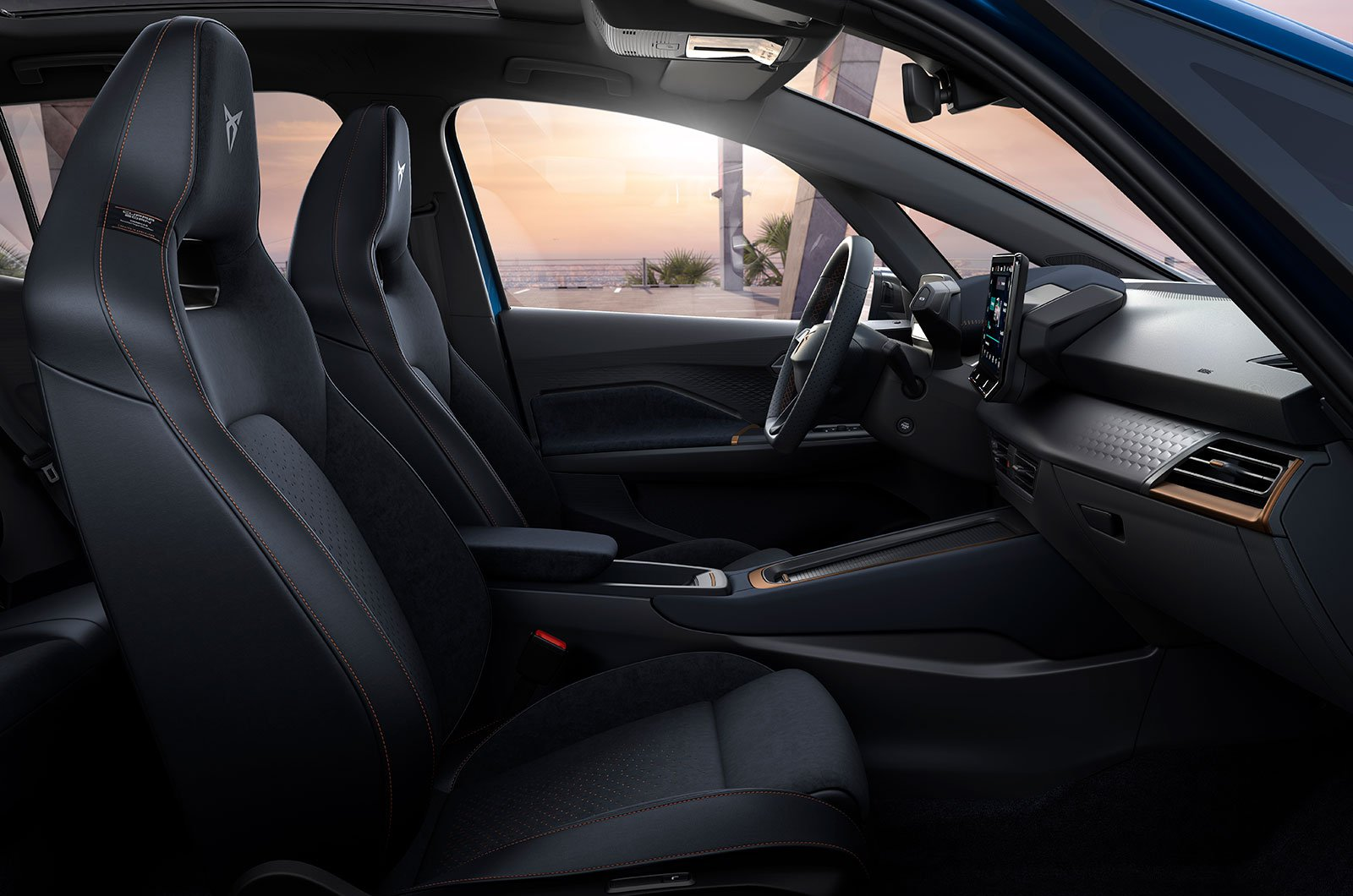 2021 Cupra Born interior