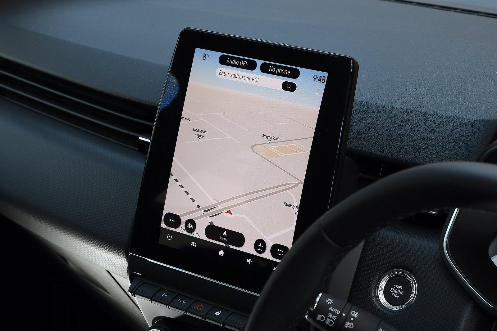 Renault Clio 2021 interior infotainment