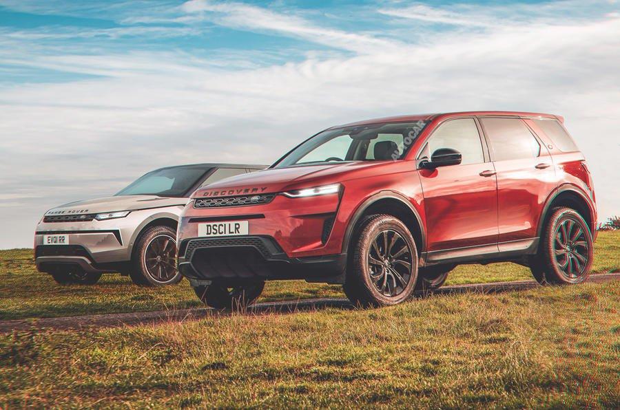 2024 Range Rover Evoque ve Discovery Sport