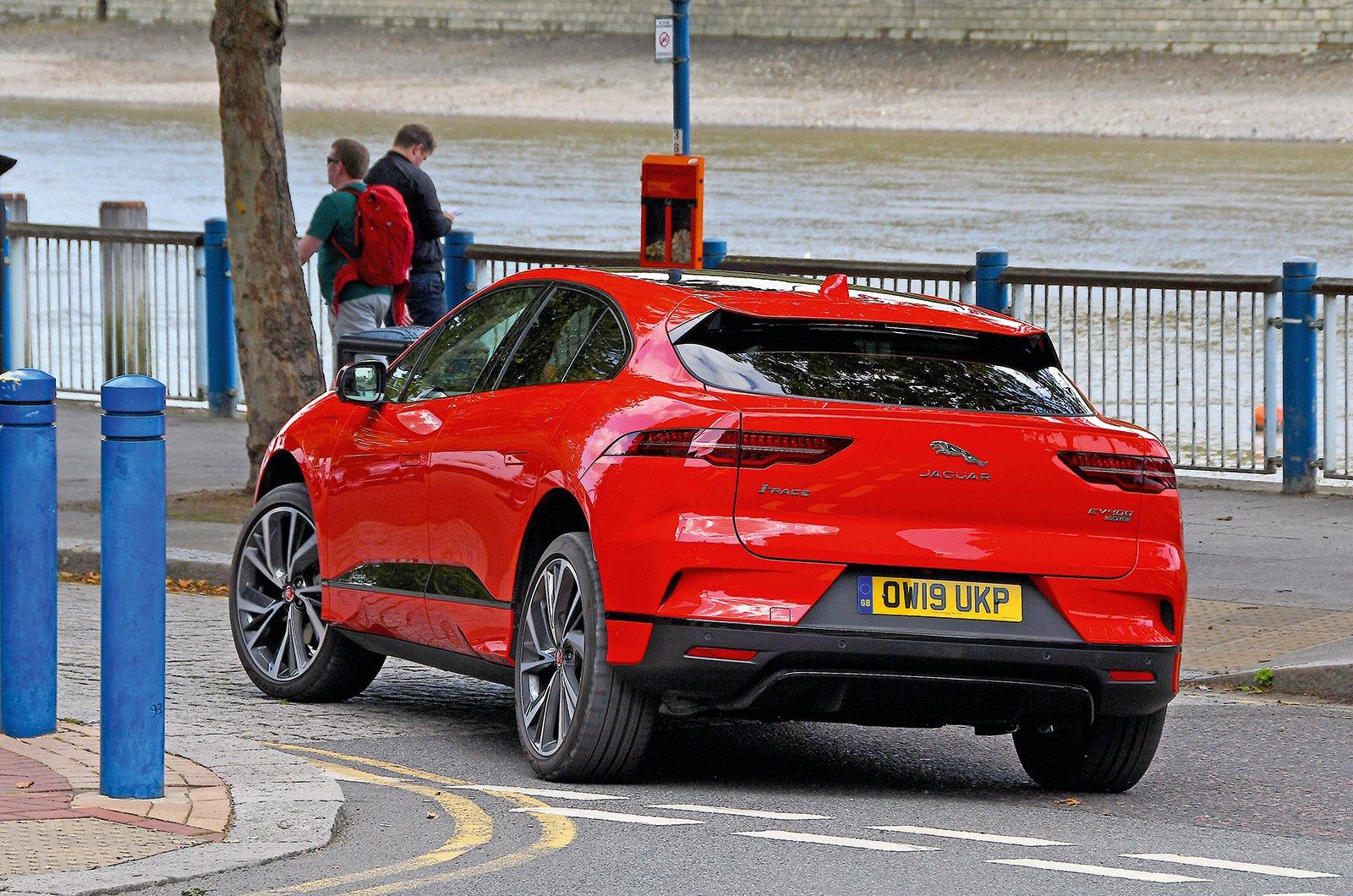 Jaguar I-Pace rear corner