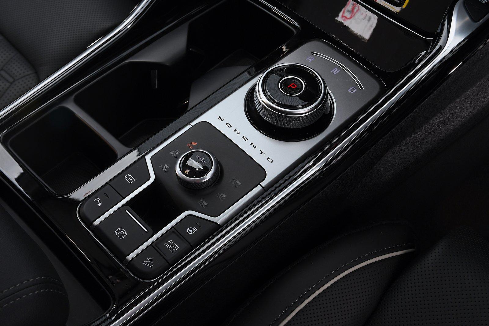 Kia Sorento 2021 interior detail