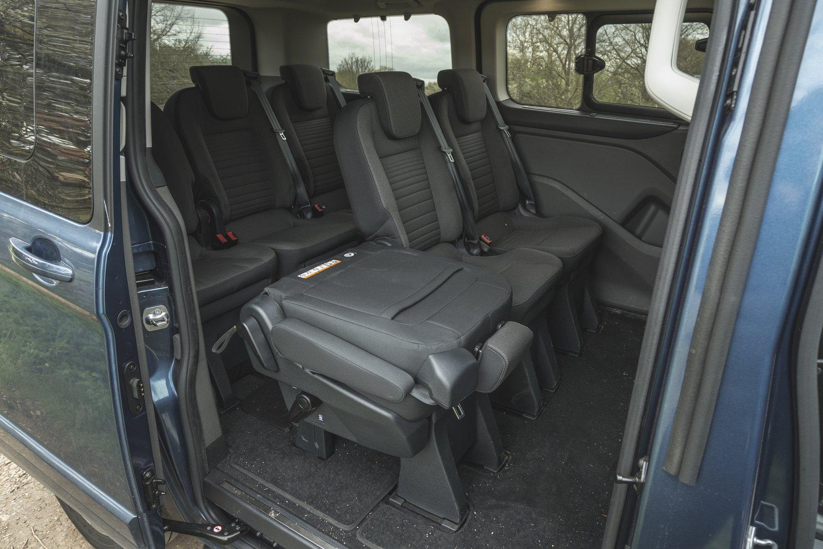 Ford Tourneo Custom 2021 interior rear seats