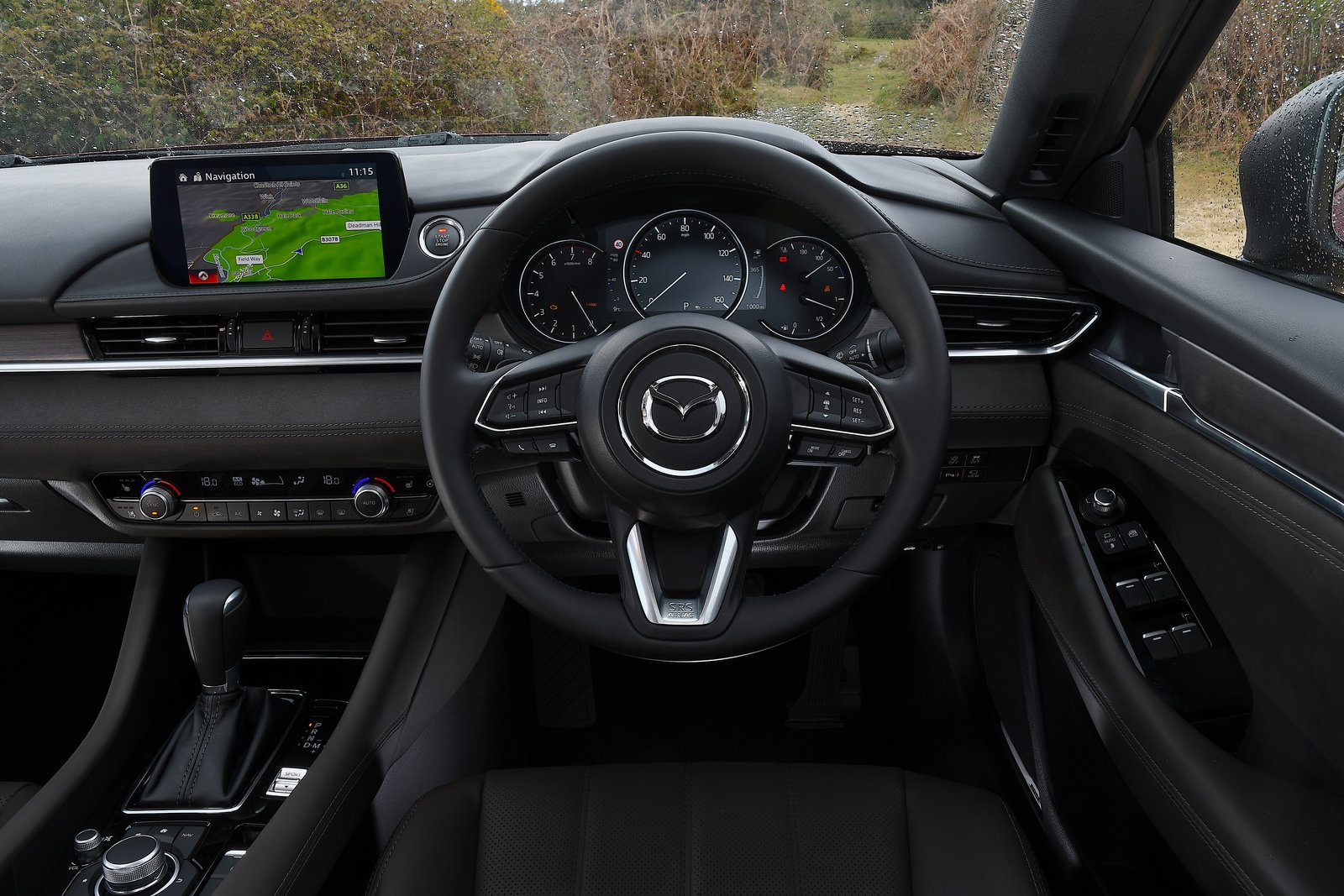 Mazda 6 saloon 2021 interior dashboard