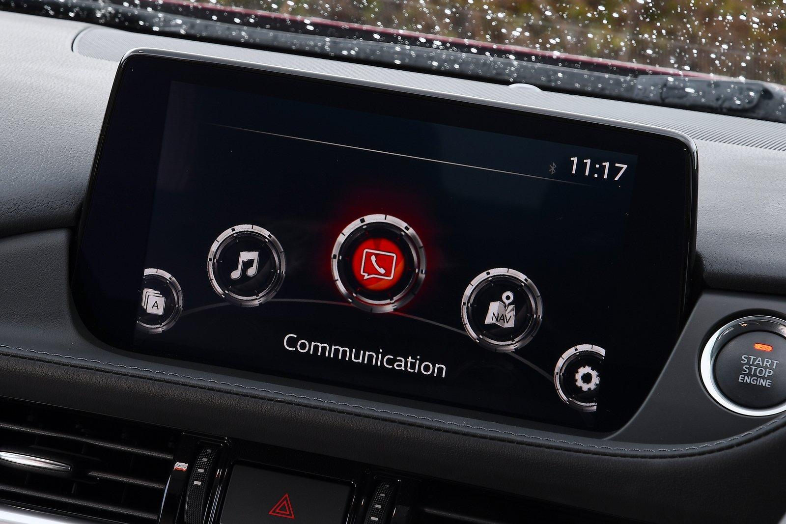 Mazda 6 saloon 2021 interior infotainment