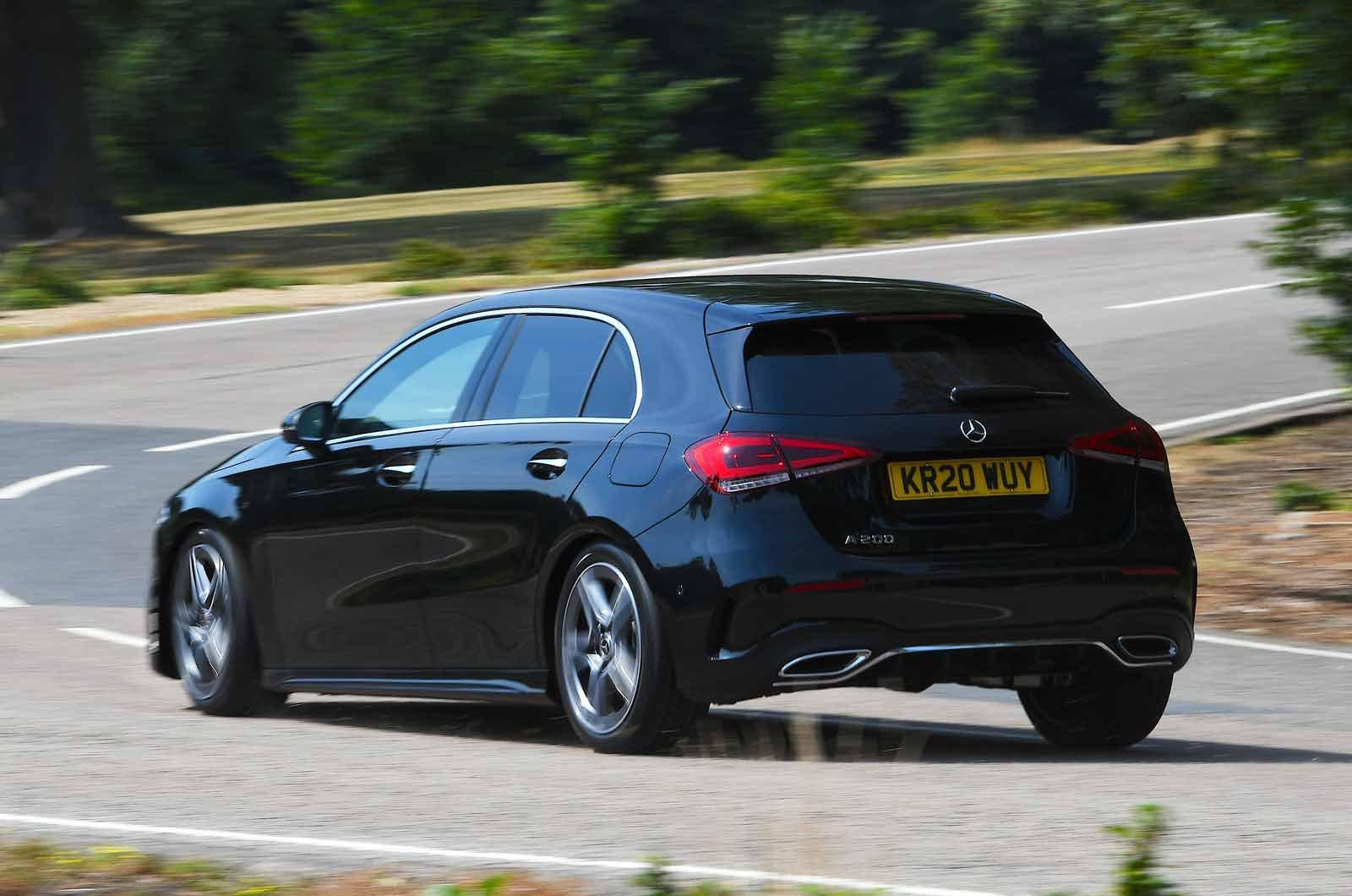 Mercedes A-Class rear