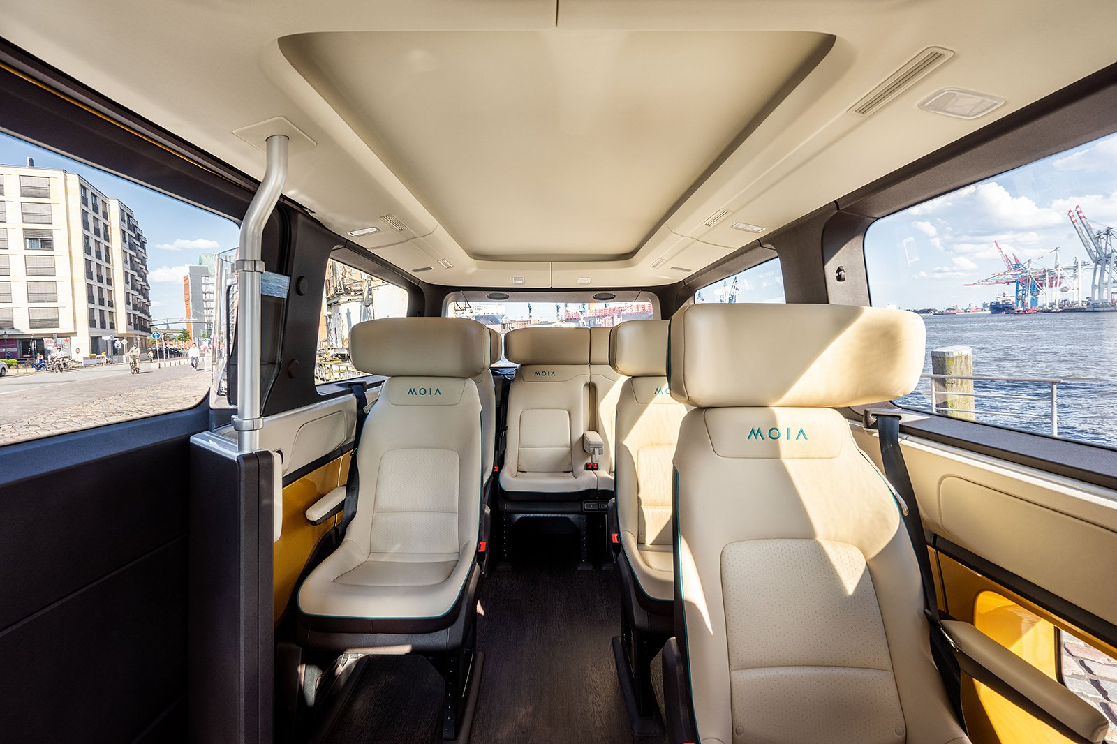 VW MOIA Interior