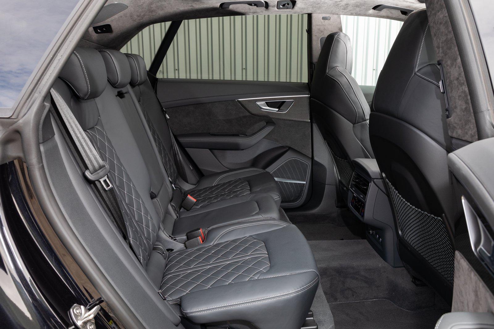 Audi SQ8 2021 interior rear seats
